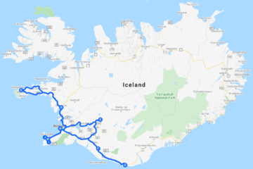 From Snaefellsnes to South Coast. 6-Day Self-Drive Tour