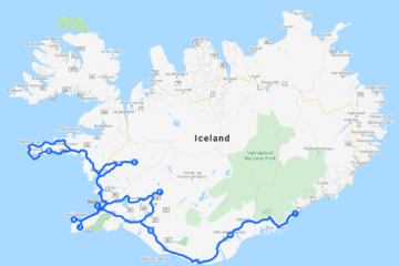 Winter Highlights of Iceland. 8-Day Self-Drive Tour